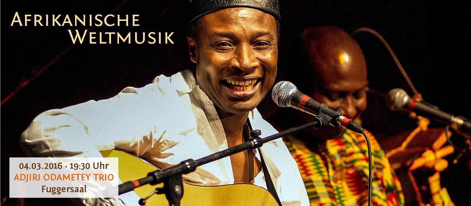 ADJIRI ODAMETEY TRIO – Afrikanische Weltmusik