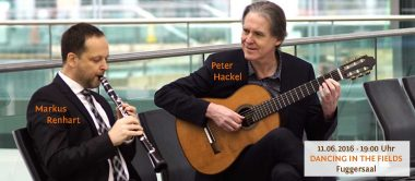 Konzert Markus Renhart (Klarinette) und Peter Hackel (Gitarre)