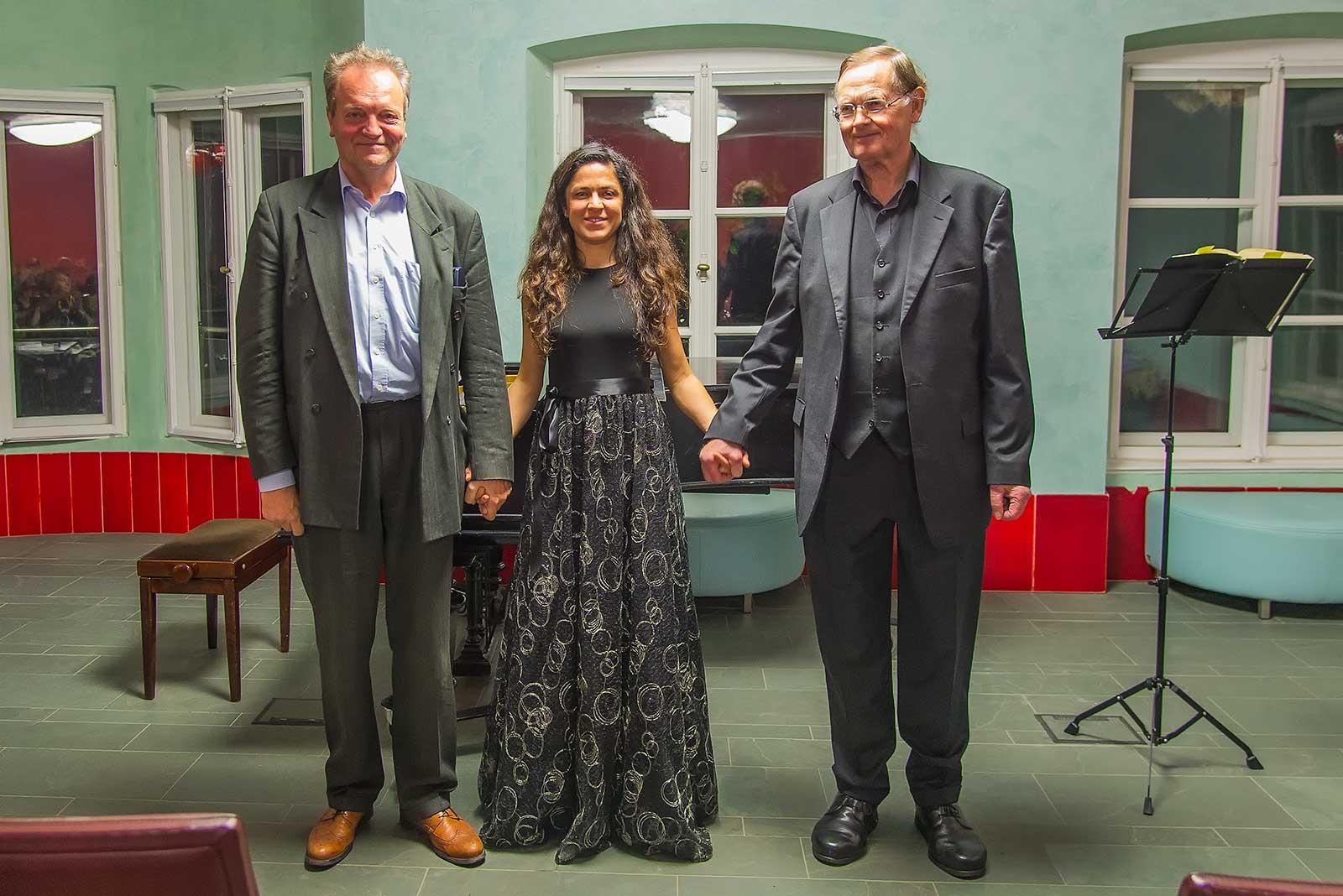 Klaus von Saucken, Bariton, Ulviya Abdullayeva, Klavier Prof. Dr. Matthias Dose, Vorleser