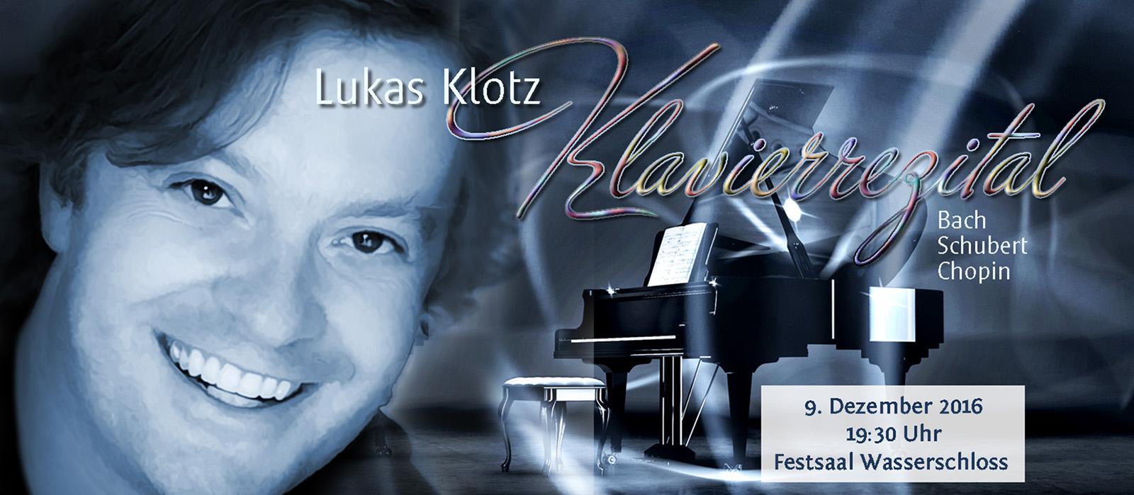 Lukas Klotz Klavierrezital